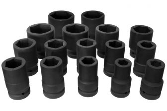 "3/4"" Drive Impact Socket Set, 16pcs (JQ-34-16set)"