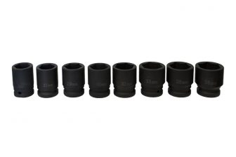 "3/4"" Drive Impact Socket Set 26mm - 38mm, 8pcs (JQ-56-34-8set)"