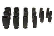 "1/2"" Drive Impact Socket Set 10mm - 36mm, 16pcs (JQ-78-12-16set)"