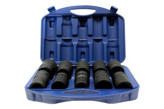"1"" Drive Deep Impact Socket set 22mm - 41mm, 10pcs (JQ-80-1-10set)"