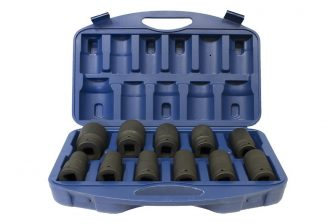 "1"" Drive Deep Impact Socket set 22mm - 46mm, 11pcs (JQ-80-1-11set)"
