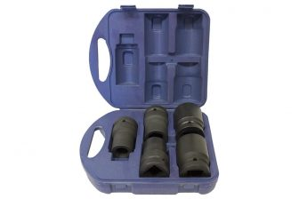 "1"" Drive Deep Impact Socket set 22mm - 41mm, 5pcs (JQ-80-1-5set)"