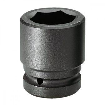 """1"""" Drive Deep Impact Square Sockets (22mm), Hex L: 80 mm (JQ-8022-1)"""