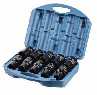"1"" Drive Deep Impact Socket set 7/8"" - 1.5/8"", 10pcs (SAE) (JQ-90-1-10set-SAE)"