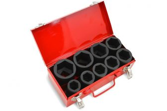 "3/4"" Drive Deep Impact Socket Set 26mm - 50mm, 9pcs (JQ-DI-34-9set)"