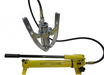 Hydraulic Gear Puller with Separable Pump (30 tons) (L-30F-MP)