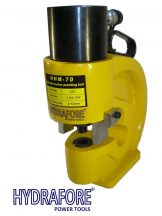 Hydraulic Puncher tool for steel plates (35 ton, 8mm thickness)