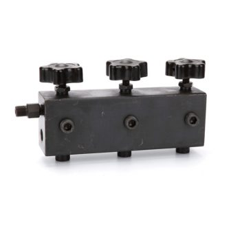 Hydraulic Distribution Block with 3 outputs and 1 backflow (MF3RCT)