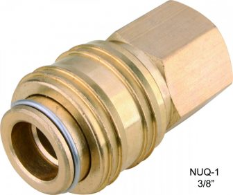 "AIR CONNECTOR, 3/8"", UNI-Type, Internal thread, Female (NUQ-1)"