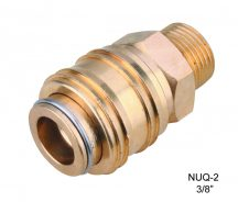 "AIR CONNECTOR, 3/8"", UNI-Type External thread, Female (NUQ-2)"