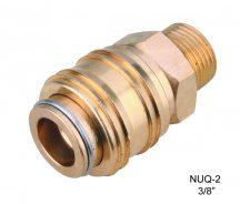 """AIR CONNECTOR, 3/8"""", UNI-Type External thread, Female (NUQ-2)"""
