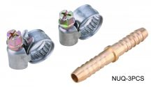 AIR CONNECTOR, UNI-Type, Hose end, Male (NUQ-3PCS)