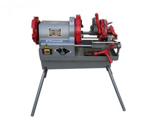 "Electric Pipe Threader Machine (1/2""-3/4"", 1""-2"", 2 1/2""-4"") Cutter BSPT (P100-110V)"