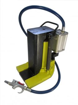 Hydraulic Toe Jack wit Air Driven Pump (10 tons) (QD-10Q)