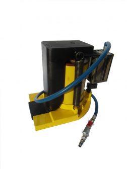 Hydraulic Toe Jack wit Air Driven Pump (30 tons)