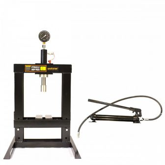 10 Ton Shop Press with Pressure Gauge (SP10)