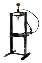 12 Ton Shop Press with Pressure Gauge