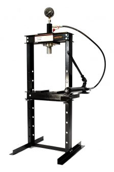 12 Ton Shop Press with Pressure Gauge (SP12-2)