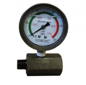 Hydraulic Pressure Gauge wit Stand (800 Bar - 63 mm)