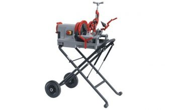 Folding Wheel Stand for Electric Pipe Threader Machine (Stand)