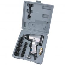 "Air Impact Wrench Kit, 17pcs (1/2"")"