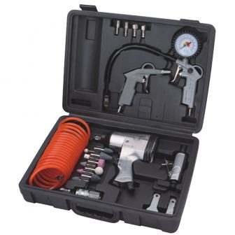 Air Tool Combo Kit, 27pcs (WF-044)