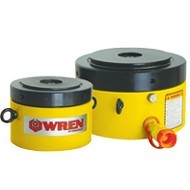 Single Acting Lock Nut Low Height Cylinder - WREN HYDRAULIC