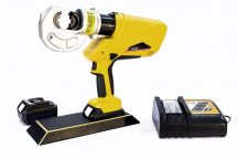 Battery Powered Hydraulic cable crimper 16-400mm2, C-Head