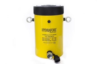 Single-acting Cylinder with Lock nut (100 T - 150 mm) (YG-100150LS)
