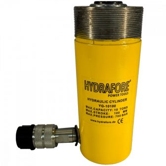 Single Acting Cylinder with collar threads (10 ton - 100 mm) (YG-10100CT)