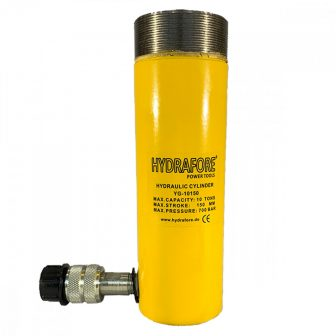 Single Acting Cylinder with collar threads (10 ton - 150 mm) (YG-10150CT)