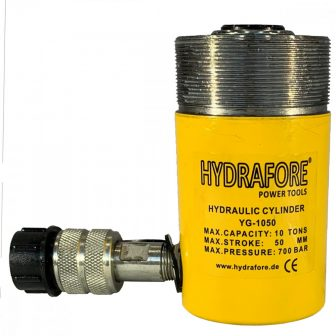 Single Acting Cylinder with collar threads (10 ton - 50 mm) (YG-1050CT)
