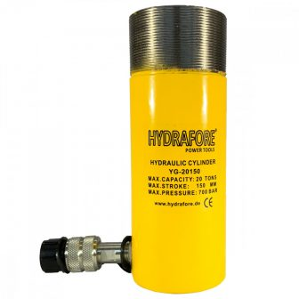 Single Acting Cylinder with collar threads (20 ton - 150 mm) (YG-20150CT)