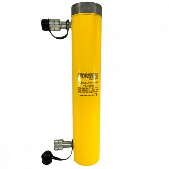 Double-acting Hydraulic Cylinder with collar threads (20 T - 300 mm) (YG-20300SCT)