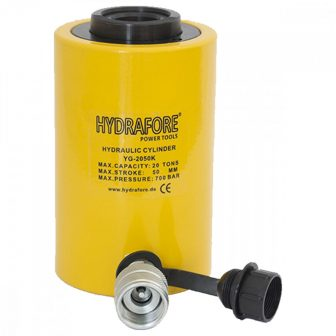Single-acting Hollow Ram Cylinder (20 T - 50 mm) (YG-2050K)