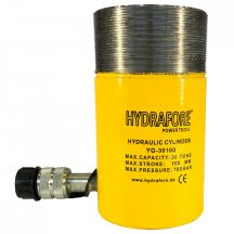 Single Acting Cylinder with collar threads (30 ton - 100 mm) (YG-30100CT)
