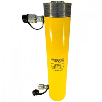 Double-acting Hydraulic Cylinder with collar threads (30 T - 300 mm) (YG-30300SCT)
