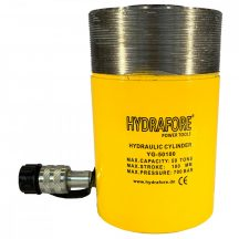 Single Acting Cylinder with collar threads (50 ton - 100 mm) (YG-50100CT)