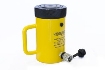Single-acting Cylinder with Lock nut  (50T - 100 mm)