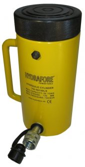 Single-acting Cylinder with Lock nut  (50T - 150 mm)