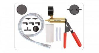 YATO Europe Hand-Held Vacuum Pump With Accessories -1÷0bar (YT-0673)