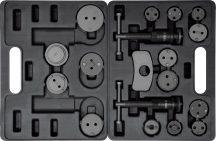 YATO Turn / Reset Tool Set, brake caliper piston, 18pcs (YT-0682)