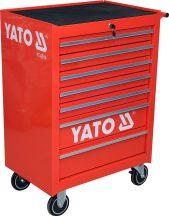YATO 7-Drawer Roller Cabinet, EMPTY, 300kg (YT-0914)