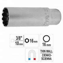 "YATO Spark Plug Spanner SW 3/8"" 16mm (YT-38511)"