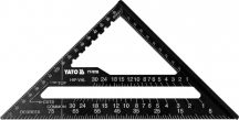YATO Tri-Square Al Roofing Rafter Angle Frame Measuring Carpenter Tool 180mm (YT-70786)