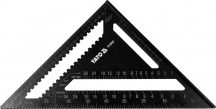YATO Tri-Square Al Roofing Rafter Angle Frame Measuring Carpenter Tool 300mm (YT-70787)