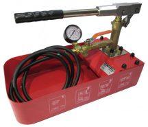 "Pressure Test Pump Hand Pump Manual 50 bar 7 L 16 ML Flow 1/2"" Connection"