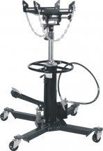 0.6T Air Hydraulic Telescopic Transmission Jack Lift 87cm - 179.5cm Foot Pedal