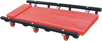 100cm Steel Mechanics Workshop Garage Floor Wheeled Creeper Board Car Van (ZX1702B)