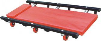 100cm Steel Mechanics Workshop Garage Floor Wheeled Creeper Board Car Van (ZX1702B)